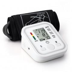 Monitor de presión arterial para brazo - Pantalla LCD - Funciones de voz