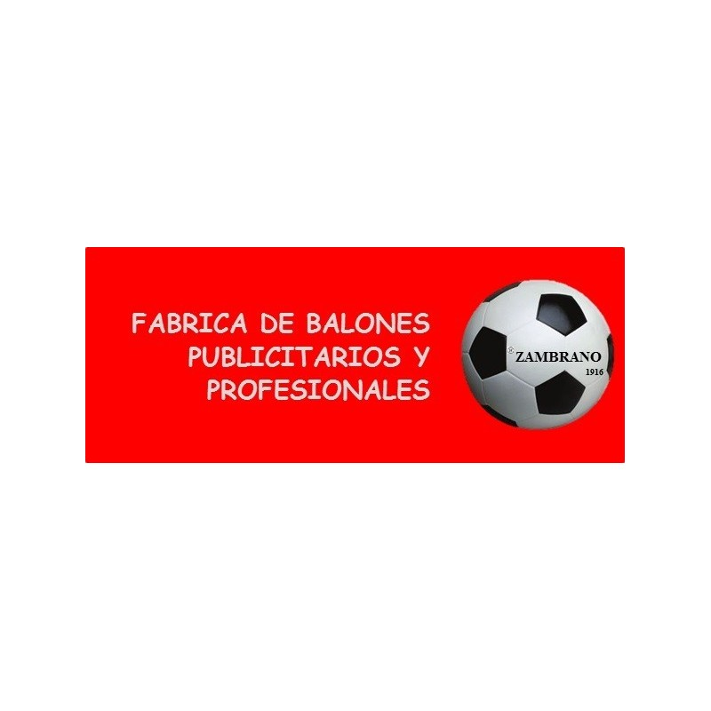 FÁBRICA DE BALONES DE FÚTBOL PUBLICITARIOS Y PROFESIONALES.