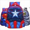 Mochilas 3D - Capitán América - Batman - Spiderman - Superman - IronMan - 6-12 años de edad