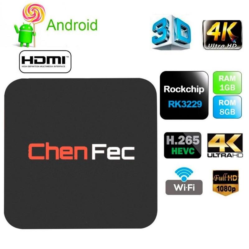 Android Tv Box Canales internacionales, peliculas musica gratis