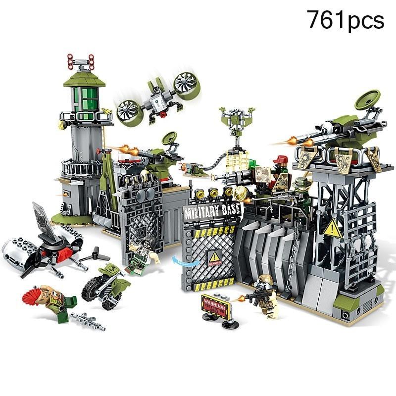 Lego - Arma militar Swat - Barricada