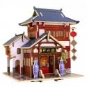 Robotime - 15 tipos de casa de madera para decoración navideña