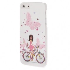 Carcasa Flower Girl - iPhone 5 /5S
