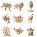 Robotime - 10 tipos de juguetes en 3D