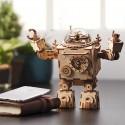 Robotime - Steampunk Robot en 3D