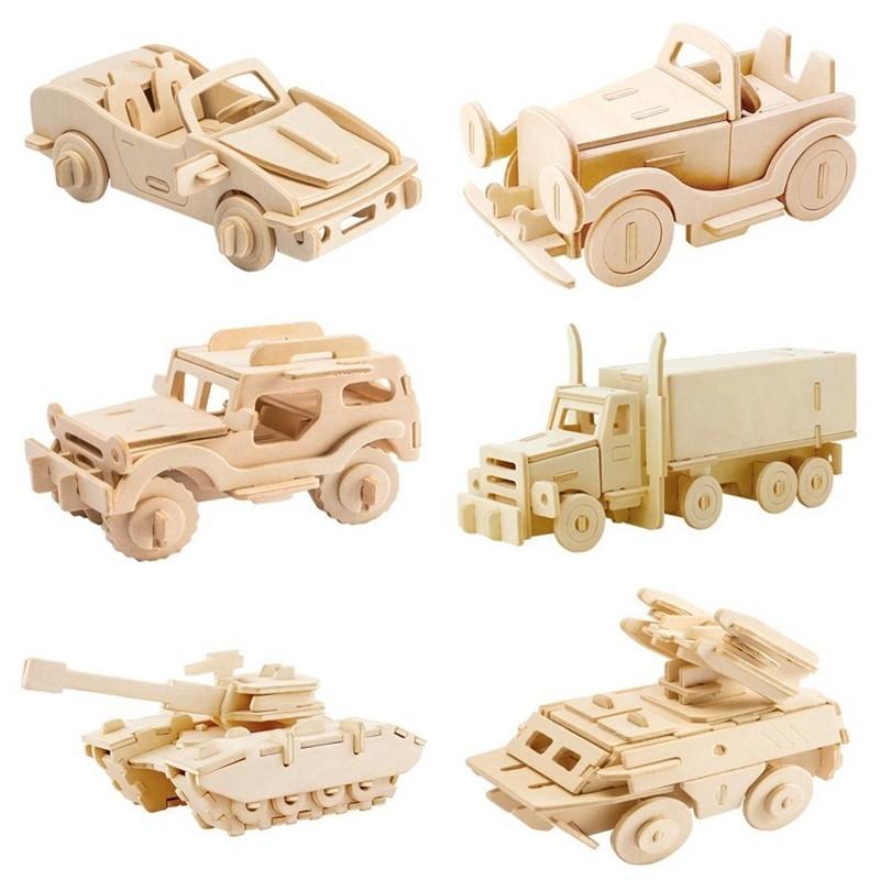 Robotime - 3D rompecabezas de madera