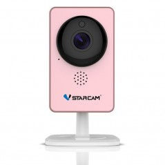 VStarcam WiFi Mini - Monitor de vídeo cámara IP C60S rosa