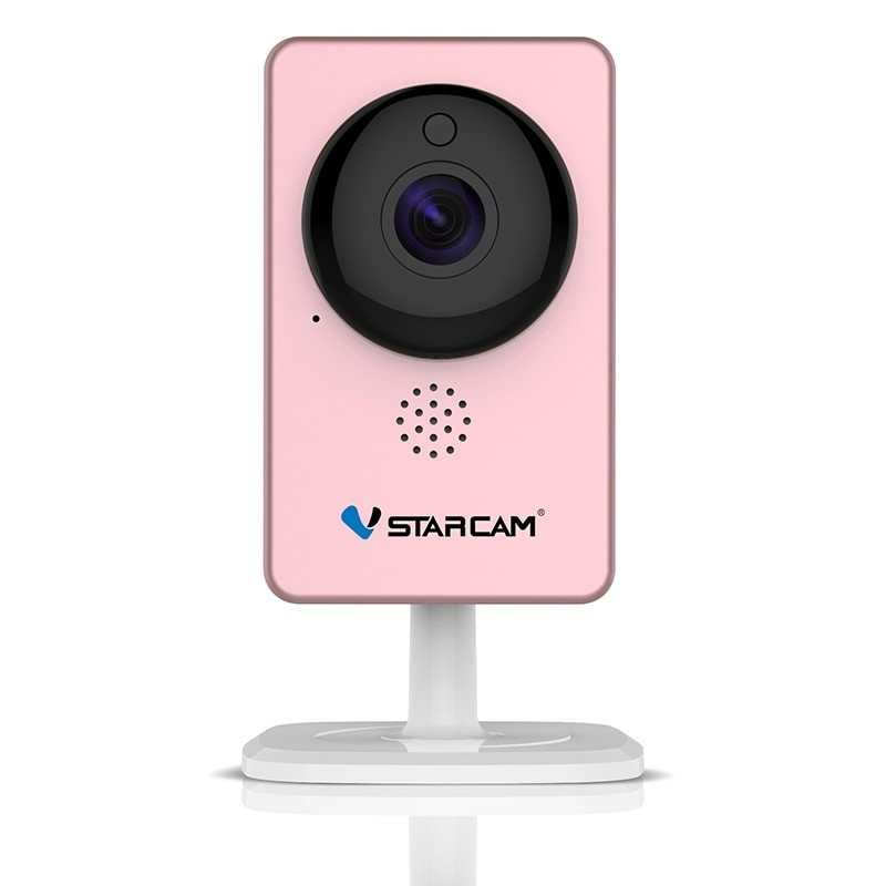 VStarcam WiFi Mini - Monitor de vídeo cámara IP C60S rosa