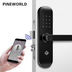 PINEWORLD biométrico con WiFi APP contraseña RFID