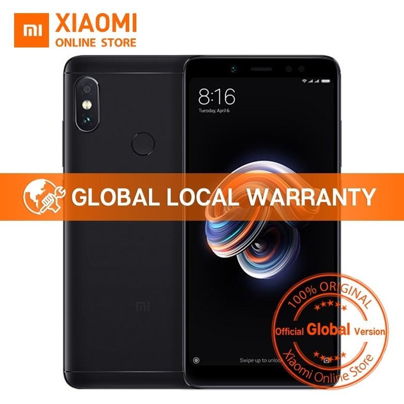 "Versión Global XIAOMI - Redmi Note 5 4 GB 64 GB 5,99 ""Pantalla Completa"""