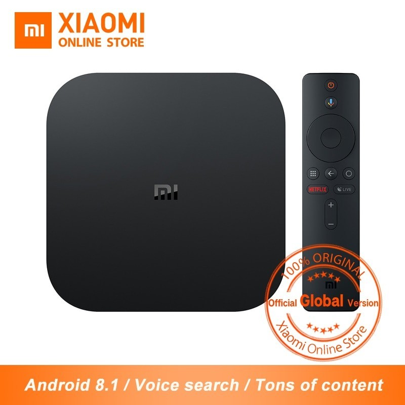 Versión Global XIAOMI - TV Box S HDR 4 K Android